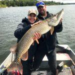Muskie Fishing Ontario Canada