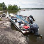 New Moon Lodge Fishing Boats Shorelunch