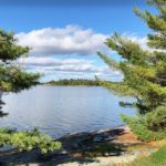 North East View Lake of the Woods New Moon Lodge Fishing Hunting Resort