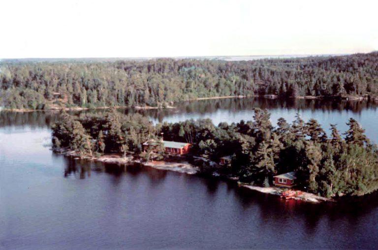 Vintage Island Aerial