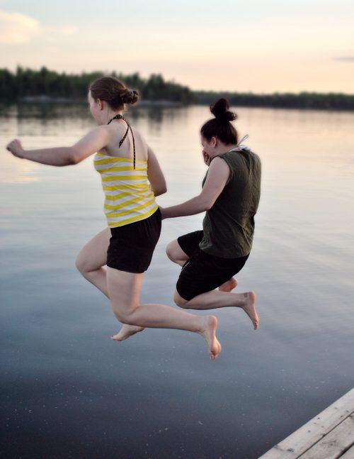 GirlsSwimming